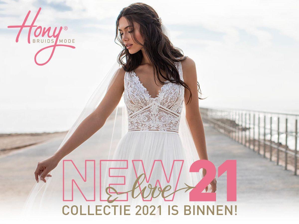 Nieuwe collectie bruidsjurken 2021 is binnen!